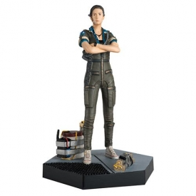 Alien Predator Amanda Ripley from Alien Isolation Figure with Collector Magazine #34