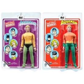 Aquaman DC Comics Retro Mego Style Action Figure Set