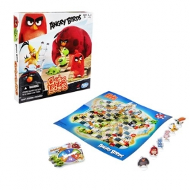 Angry Birds Chutes and Ladders Edition Game