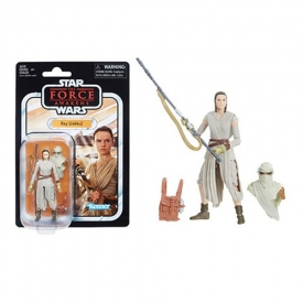 Star Wars The Vintage Collection Rey Action Figure, Not Mint
