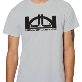DC Hall of Justice Staff T-Shirt XXL
