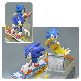 Sonic the Hedgehog Sonic Generations Diorama Statue