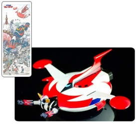 UFO Robo Grendizer 20th Anniversary Figure with Spacer