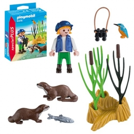 Playmobil 5376 Special Plus Explorer with Otters Figure