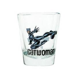Batman Catwoman DC Comics Mini Glass