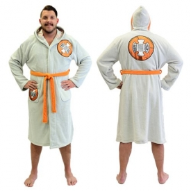 Star Wars BB-8 Hooded Fleece Bathrobe