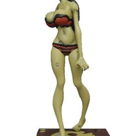 Zombie Tramp Statue – Red Bikini