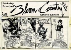 Berkeley Breathed Bloom County Artist Edition HC