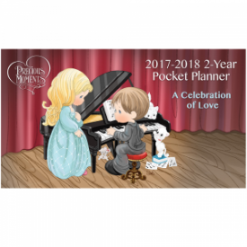 A Collection of Love 2017-2018 Pocket Planner