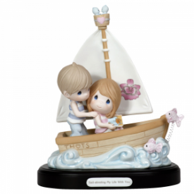 Sail-abrating My Life With You Limited Edition Bisque Porcelain Sculpture