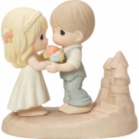 Loving You Is A Dream Come True Bisque Porcelain Figurine