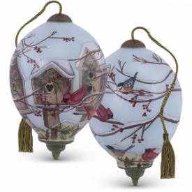 Home For The Holidays Petite Princess-Shaped Glass Ornament