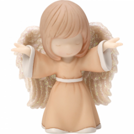 Open Arms Angel Resin Mini Figurine