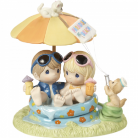 Everyday With You Is Paradise Limited Edition Bisque Porcelain Sculpture