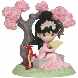 A Blossom Is Never Too Late To Bloom, Figurine