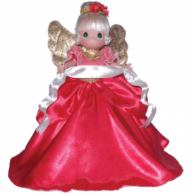 Angelic Grace Red Tree Topper