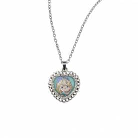 Growing In Grace Zinc Alloy Pendant Necklace