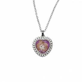 Filled With Joy Zinc Alloy Pendant Necklace