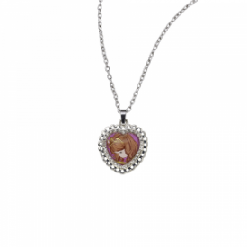 Faith Moves Mountains Zinc Alloy Pendant Necklace