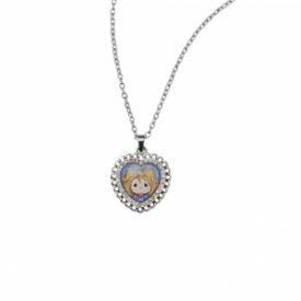 Hope Shines Bright Zinc Alloy Pendant Necklace