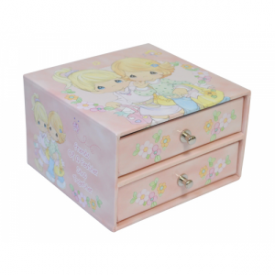 Friends Of A Feather Shop Together Two-Drawer Jewelry Box