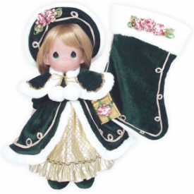 23rd Annual Stocking Doll – Victorian Splendor Christmas