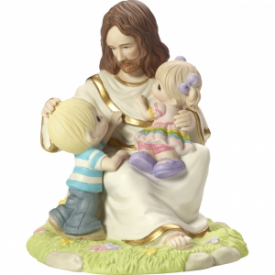Be Ye As Little Children, Limited Edition Bisque Porcelain Sculpture