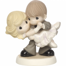 Dancing With My Star Bisque Porcelain Figurine