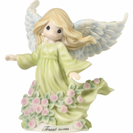 Trust In Him Angel Resin Figurine