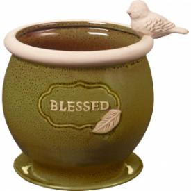 Blessed Ceramic Planter