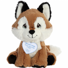 Always Quick With A Smile! Smarty Fox Stuffed Animal, 8.5 inches