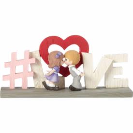 "#LOVE,"" Resin Figurine"