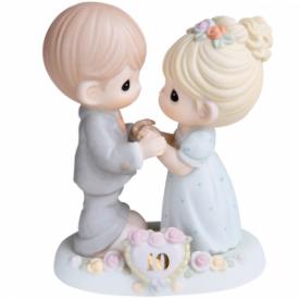 A Decade Of Dreams Come True – 10th Anniversary Bisque Porcelain Figurine