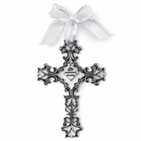 Anniversary Blessings Decorative Wall Cross