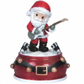 Santa Musical Resin Music Box