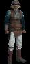 Lando Calrissian (Skiff Guard Version) Sixth Scale Figure