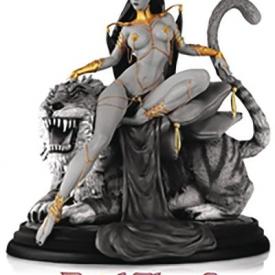 Women Dynamite Dejah Thoris Campbell B&W Statue